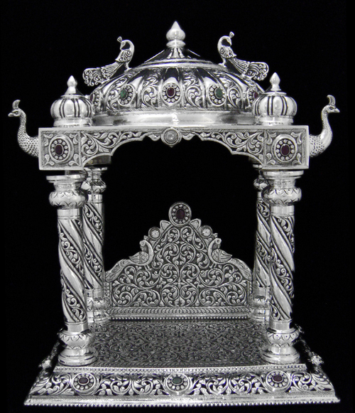 Silver Pooja Items Puja T